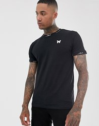 Good For Nothing Muscle T Shirt With Neck Logo In Black