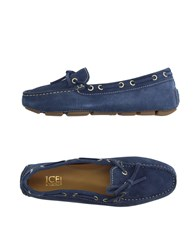 Ice Iceberg Footwear Moccasins Women Grey
