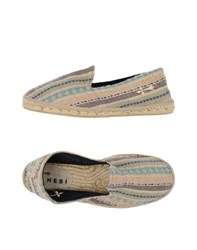 Manebi Footwear Espadrilles Men Military Green