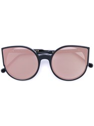 Retrosuperfuture Oversized Sunglasses Women Acetate One Size Black