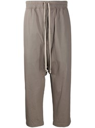 Rick Owens Drkshdw Drop Crotch Cropped Cargo Trousers 60