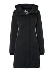 Hugo Boss Padded Coat With Removable Black