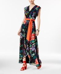 Inc International Concepts Printed High Low Maxi Dress Only At Macy's Floral