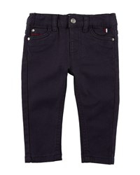 Mayoral Stretch Twill Trousers Blue
