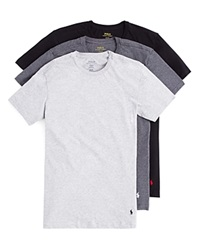 Polo Ralph Lauren Slim Fit Crewneck Tee Set Of 3 Multi