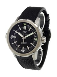 Iwc 'Aquatimer Automatic' Analog Watch Stainless Steel