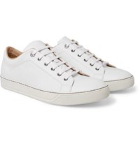 Lanvin Leather Sneakers White