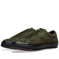 Converse One Star Ox Green