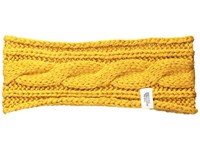 The North Face Cable Eargear Citrine Yellow Headband Multi