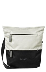 Sherpani Medium Sadie Crossbody Bag White Birch