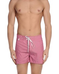 Loro Piana Swimwear Swimming Trunks Men Garnet