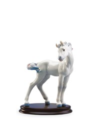 Lladro The Horse Porcelain Figurine