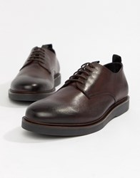Hudson H By Barnstable Derby Shoes In Red Leather