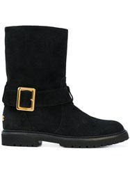 Bally Georgy Boots Women Calf Leather Leather Rubber 40 Black