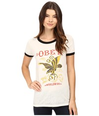 Obey Eagle Soar Cr Me Black Women's Clothing