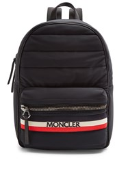 Moncler New George Quilted Backpack Black Multi