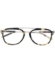 Calvin Klein 205W39nyc Square Frame Glasses Nude And Neutrals