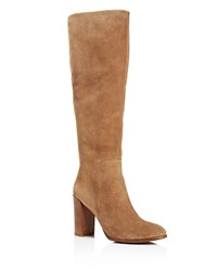 Kenneth Cole Justin Tall High Heel Boots Desert Tan