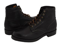 Frye Arkansas Mid Lace Black Full Grain Leather Men's Lace Up Boots