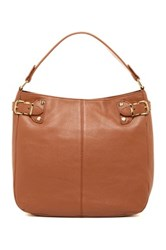 Kenneth Cole Grab Bag 3 Leather Hobo Brown