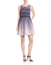 Decode 1.8 Belted Ombre Dress Grey