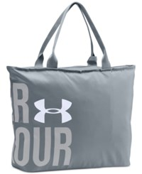 Under Armour Big Tote Bag Steel White