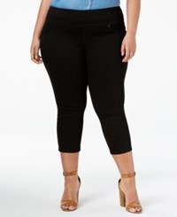 Lee Platinum Plus Size Capri Jeggings Black