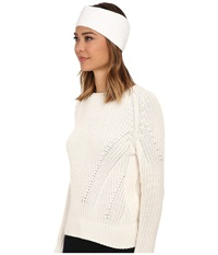 Ugg Quilted Fabric Headband White Multi Traditional Hats