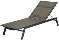 Barlow Tyrie Cayman Stacking Lounge Graphite 01 Frame Umber 511 Sling None Black