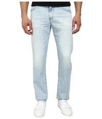 Ag Adriano Goldschmied Graduate Tailored Leg Recycled Denim In 23 Years Barracuda 23 Years Barracuda Men's Jeans Blue
