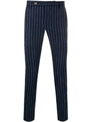 Entre Amis Striped Pattern Tapered Trousers 60