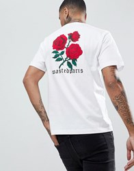 Wasted Paris Amore T Shirt In White White