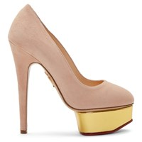Charlotte Olympia Pink Dolly Platform Heels