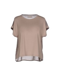 At.P. Co At.P.Co T Shirts Beige
