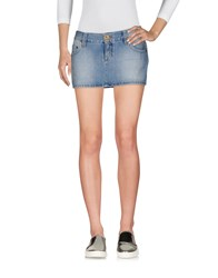 Fixdesign Atelier Denim Skirts Blue