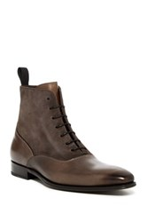 Mezlan Lace Up Boot Gray
