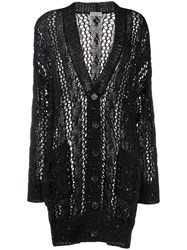Brunello Cucinelli Ribbed Loose Knit Cardigan 60