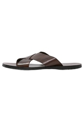 Zign Sandals Brown Dark Brown