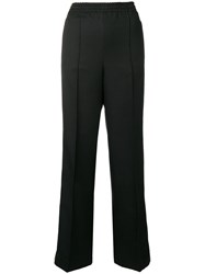 Prada Side Stripe Track Pants Black