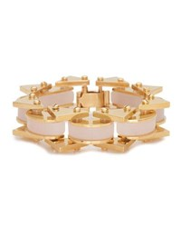 Lele Sadoughi Riveted Mini Satellite Bracelet Pink