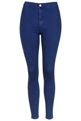 Topshop Moto Deep Blue Joni Jeans Bright Blue