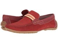 Steve Madden Zoomed Red Men's Slip On Shoes
