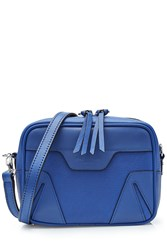 Rag And Bone Leather Shoulder Bag Blue