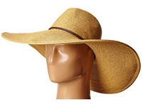 San Diego Hat Company Ubx2722 Pinched Crown Floppy Sun Hat Natural Caps Beige