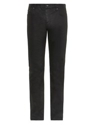 John Varvatos Coated Slim Leg Jeans Dark Navy