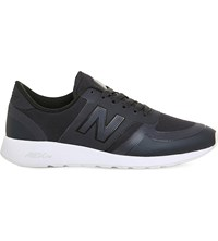 New Balance 420 Low Top Mesh Trainers Navy White