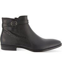Kg By Kurt Geiger Nelson Leather Chelsea Boots Black