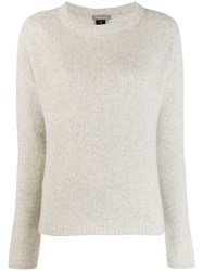Suzusan Crossed Out Jumper Grey