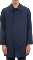 Aquascutum London Roadgate Raincoat Blue