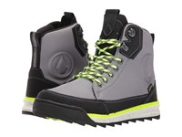 Volcom Roughington Gtx Boot Black Combo Men's Lace Up Boots